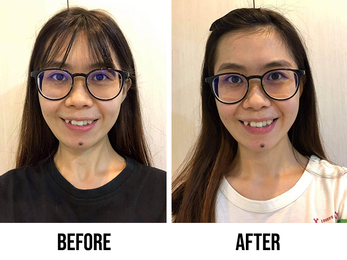 Innisfree Black Tea Youth Enhancing Ampoule Review Sin Yee Before After