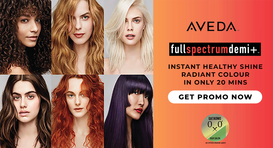 Get yourself a hair makeover with AVEDA's New Full Spectrum Demi at SGD132!