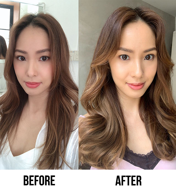 Bypattcia Hair Extensions Before After