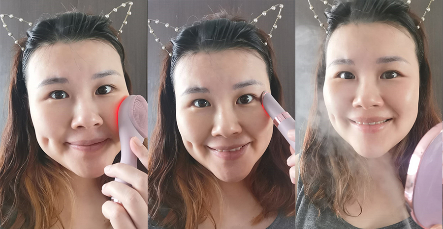 I built a home facial routine with devices for less than S$300 – can they replicate results I get from a salon facial?