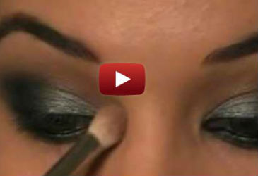 glee lea michele smokey eye makeup tutorial