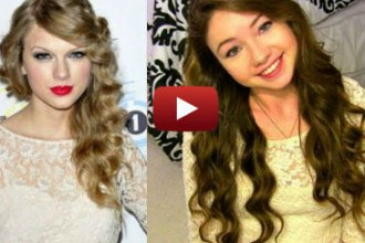 how to get taylor swift curls without heat