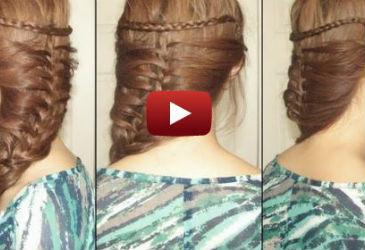 mermaid braid tutorial