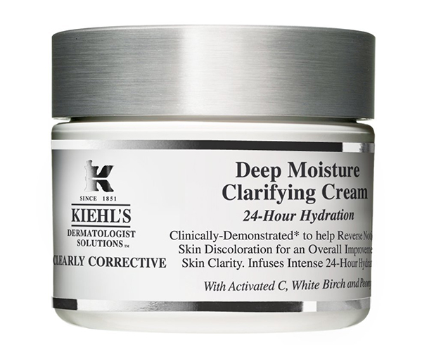 Whitening Masks Kiehls Clearly Corrective White Deep Moisture Clarifying Cream
