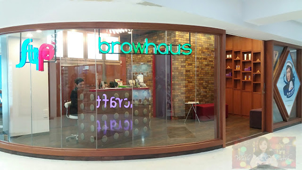 Browhaus Brow Entrance