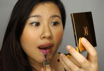 Review: YSL Rouge Pur Couture Vernis A Levres Rebel Nudes