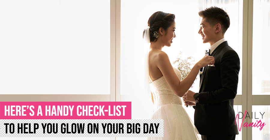 The wedding beauty check-list you must have to get your bridal beauty prep under control