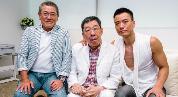 Lau Dan, Wu Fung & Otto Chan In Singapore For Launch Of Kris By Mence, A New Body Toning Centre