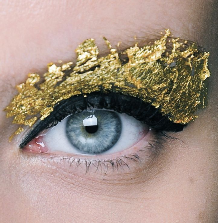 Not Wearable Eye Makeup_Foil Eyeshadow