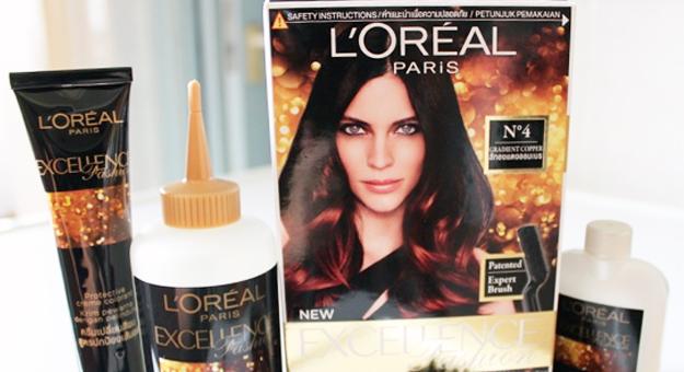 review l 39 oreal paris ombre gradient hair dye daily vanity. Black Bedroom Furniture Sets. Home Design Ideas