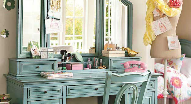 Get Inspired! Here Are 7 Vanity Table Ideas For You To Come Up With Your Dream One