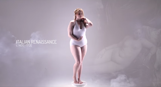 "See How The ""Ideal"" Body Shape Changes Through 3000 Years In This 3-Minute Video"