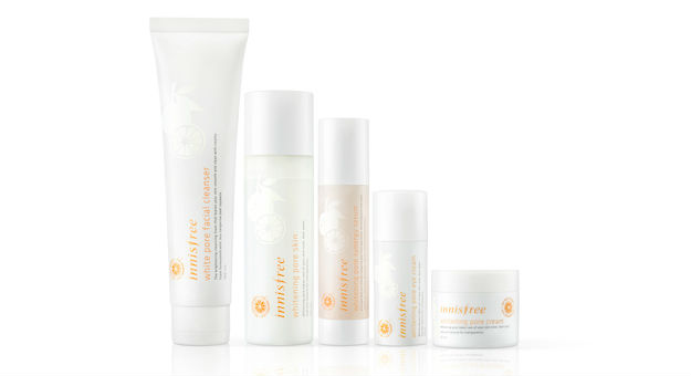 innisfree Whitening Pore Line: For Enlarged Pores & Dull Complexion