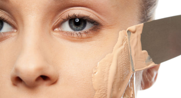 How To Apply Your Foundation. You Shouldn't Be Just Smearing It All Over Your Face.