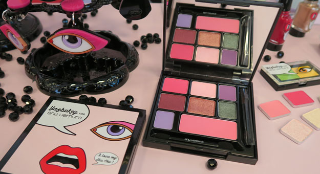 A Look At Yazbukey For Shu Uemura Collection