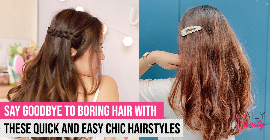 3 ways to effortlessly transform your boring old hairstyle into a chic Instagram-worthy look