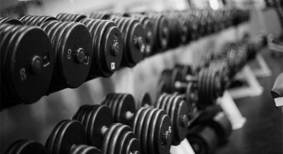dumbbells-exercises-black-and-white-pictures