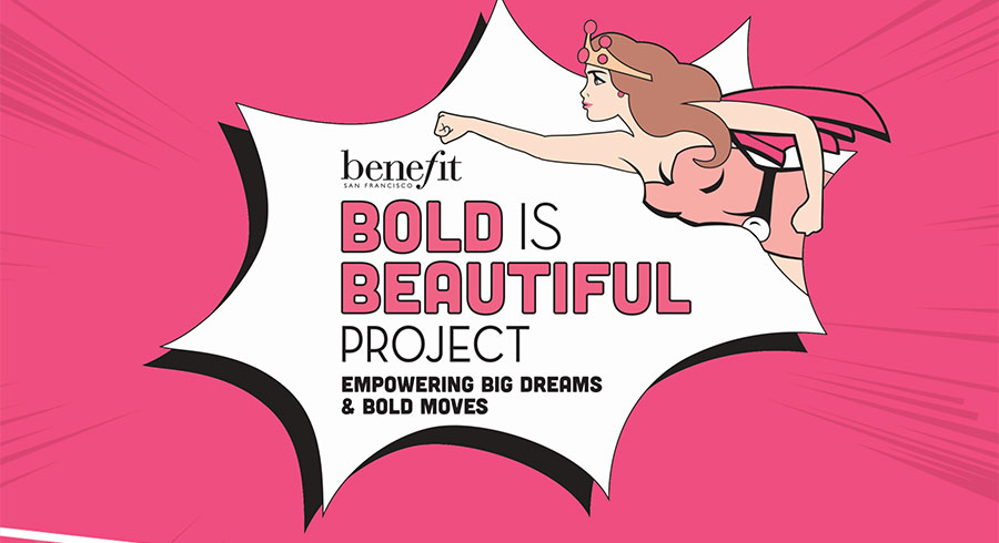 benefit s bold is beautiful project leave benefit s brow