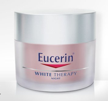 eucerin white therapy night