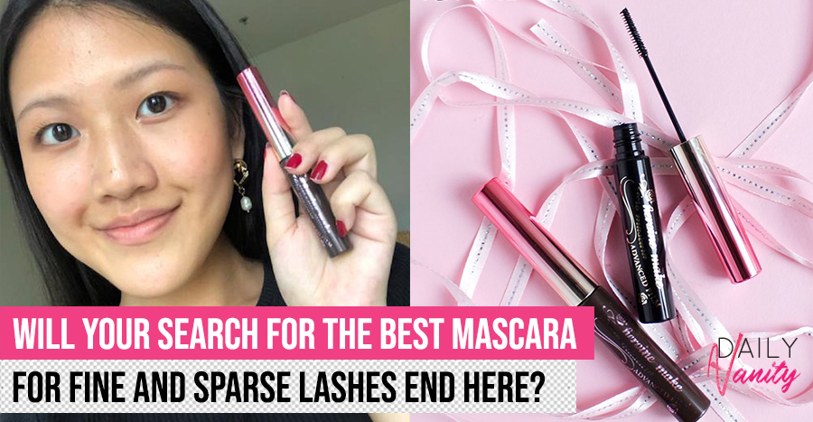 Heroine Make Micro Mascara Advanced Film Review: How does this mascara perform on the finest and sparsest lashes?