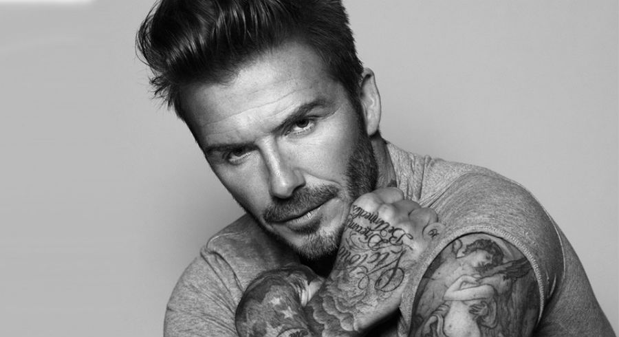 David Beckham is named first global ambassador for Biotherm Homme
