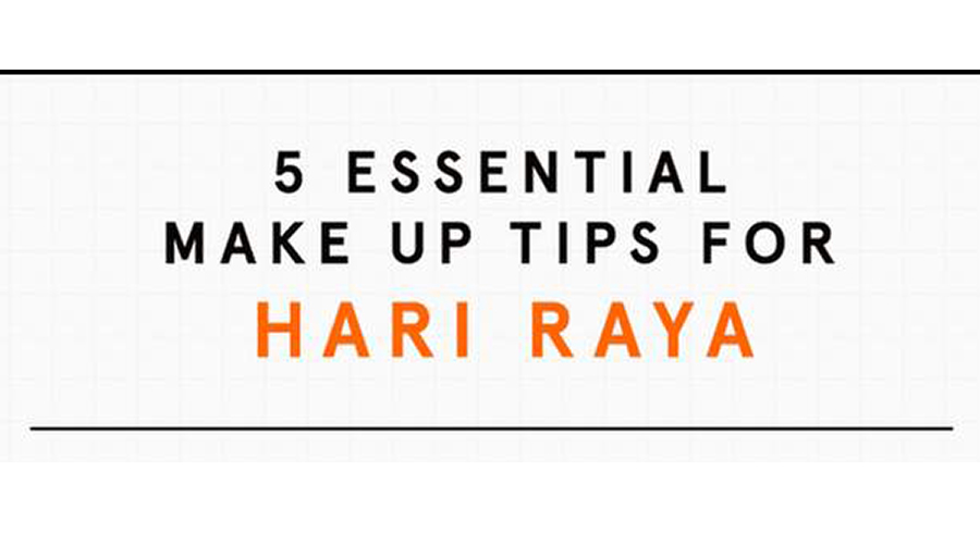 5 essential makeup tips for Hari Raya