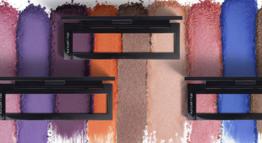 Shu Uemura spoils us with so many shades of eyeshadow, we are in beauty heaven! Find out how many exactly and see pictures of them all