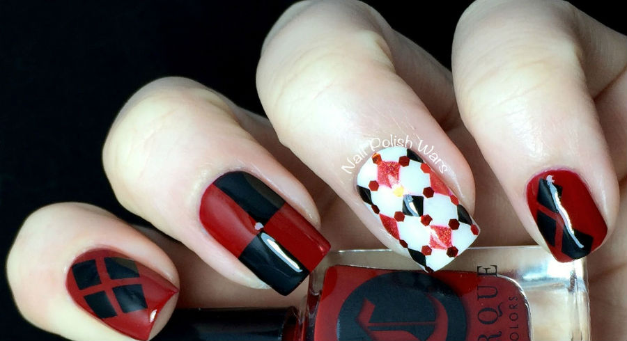 13 Harley Quinn-inspired nail designs: Everything from pretty to downright crazy