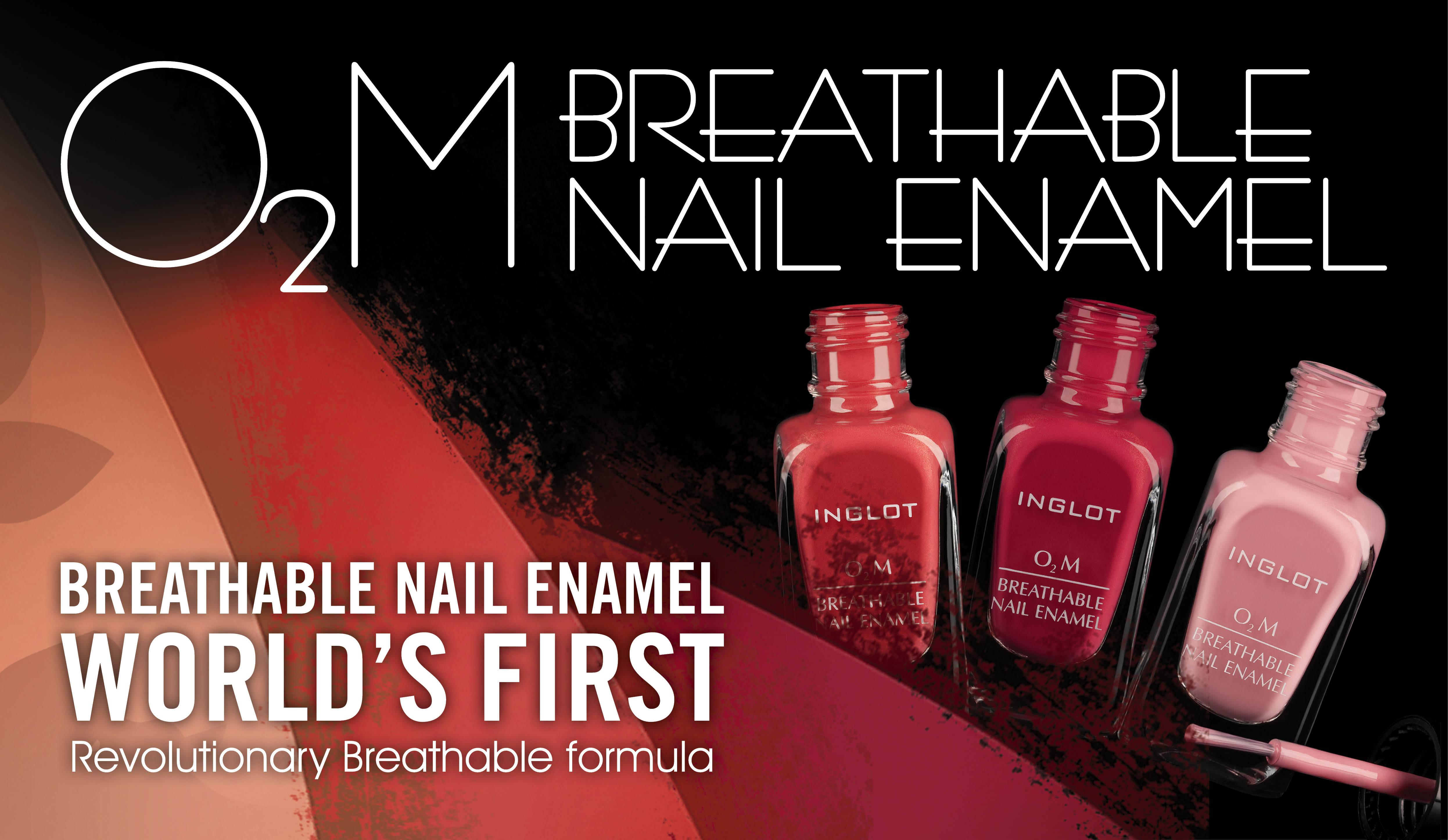 Breathable Nail Polish_Inglot o2m - Daily Vanity