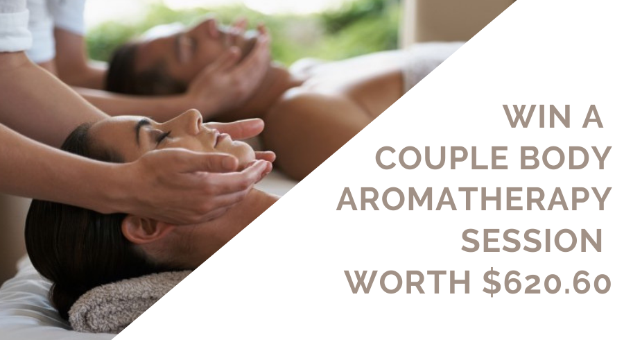 GIVEAWAY: Luxurious 90min Couple Body Aromatherapy session at Spa Rael