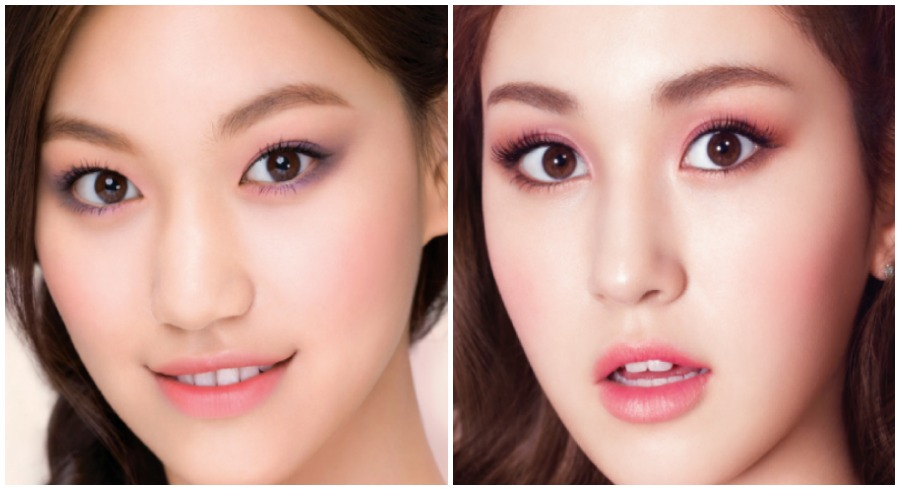 How to get 4 different Korean makeup looks using the latest makeup pencils from Korea