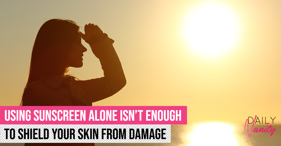 Sunscreen blocks up to 55% of UV damage. Here's how to cover the other 45%.