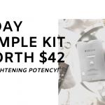 3 Day Sample Kit Worth 42 4