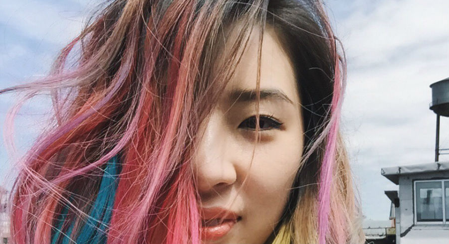 funky hair colours