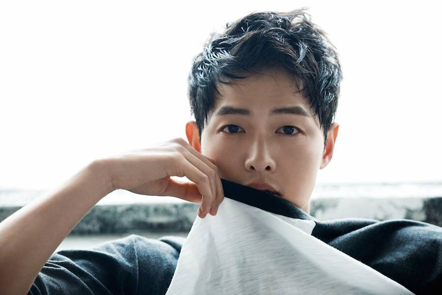 korean skincare tips - song joong ki