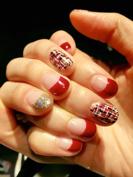 Korean nail salons in singapore with beads stones and pearls their korean nail artists will be able to transform your nails with the most up to date nails design from korea freerunsca Image collections
