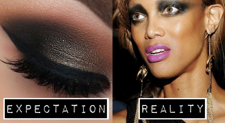 12 expectation vs. reality photos all women who use makeup can relate to