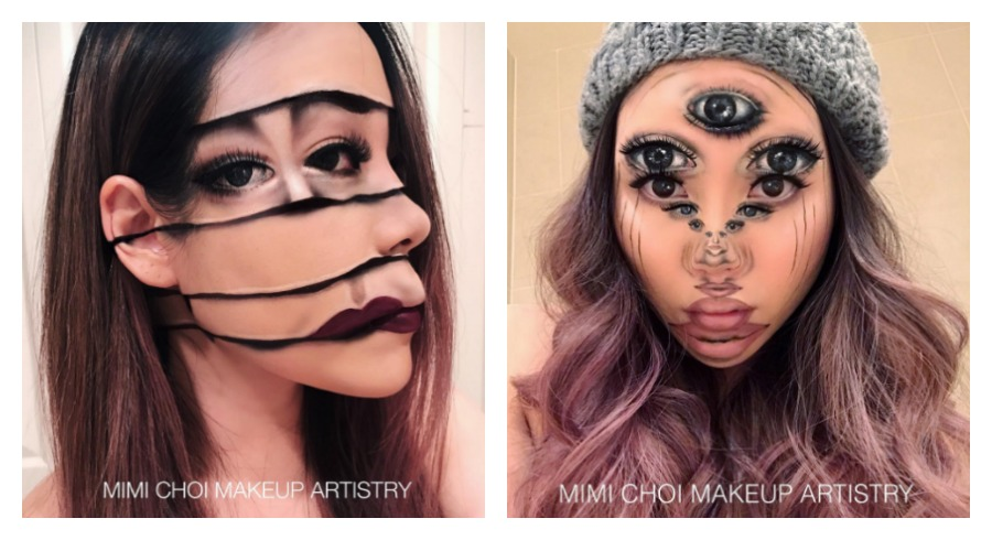 This makeup artist creates optical illusions that will get you to do a double take