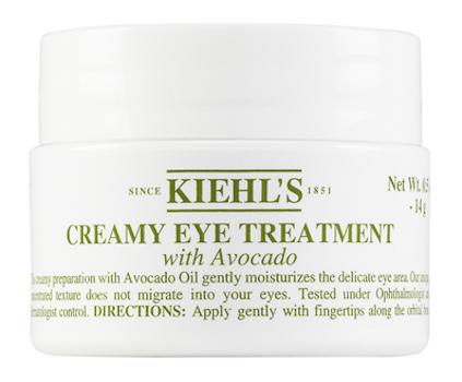 best eye cream for dark circles Kiehl's Creamy Eye Treatment with Avocado