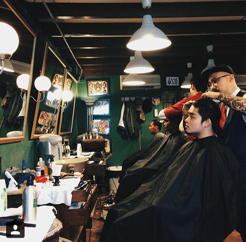 vintage barbershop hounds of the baskerville