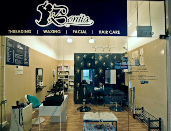 best threading salon - bonita
