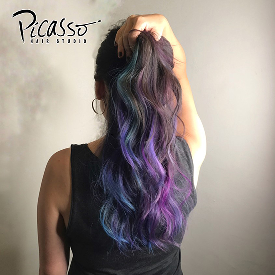 funky hair colours picasso 4