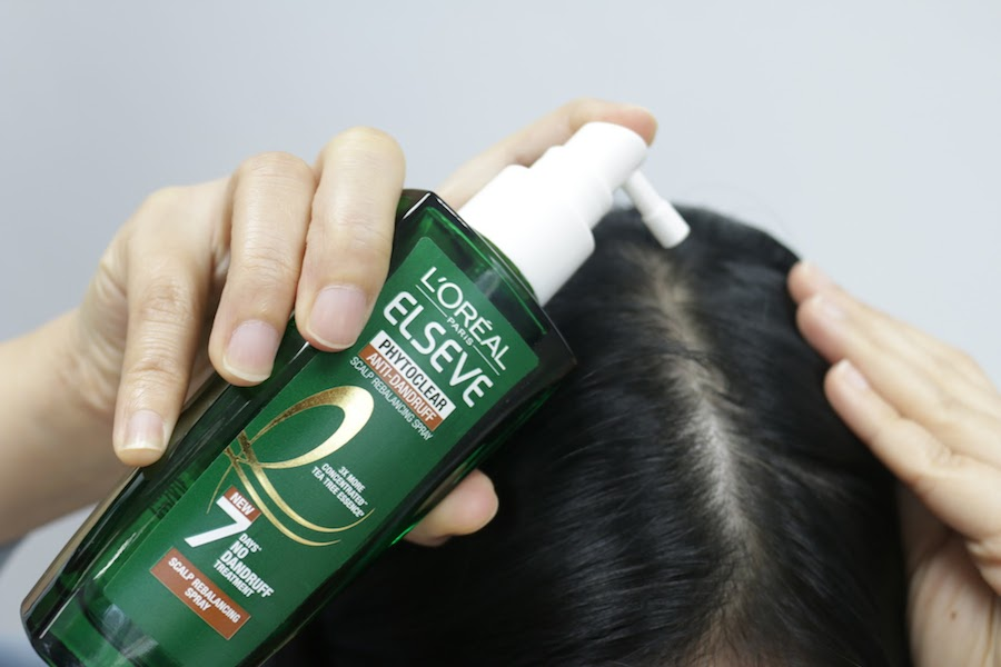 L'Oreal Paris Phytoclear review - scalp balancing spray