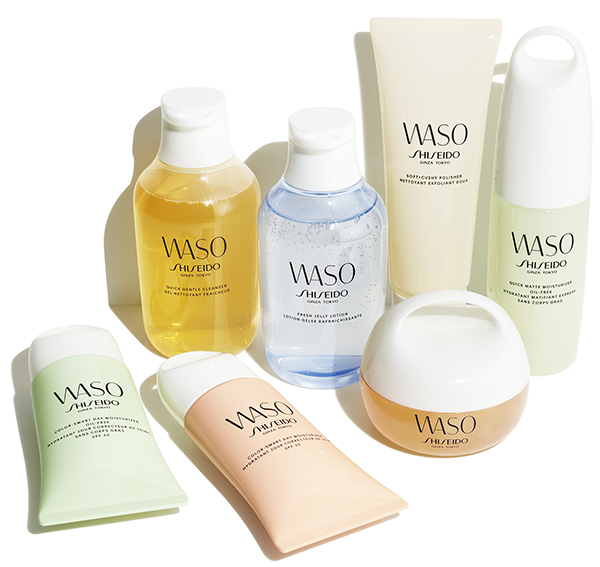 millennial beauty products shiseido waso