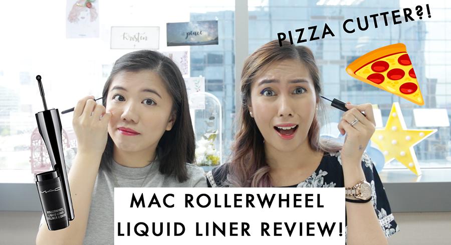 "MAC Rollerwheel Eyeliner Review: Did the ""Pizza Cutter"" Eyeliner work?"
