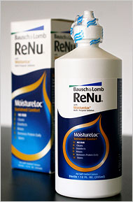 bausch and lomb re-nu contact lens solution moistureloc solution