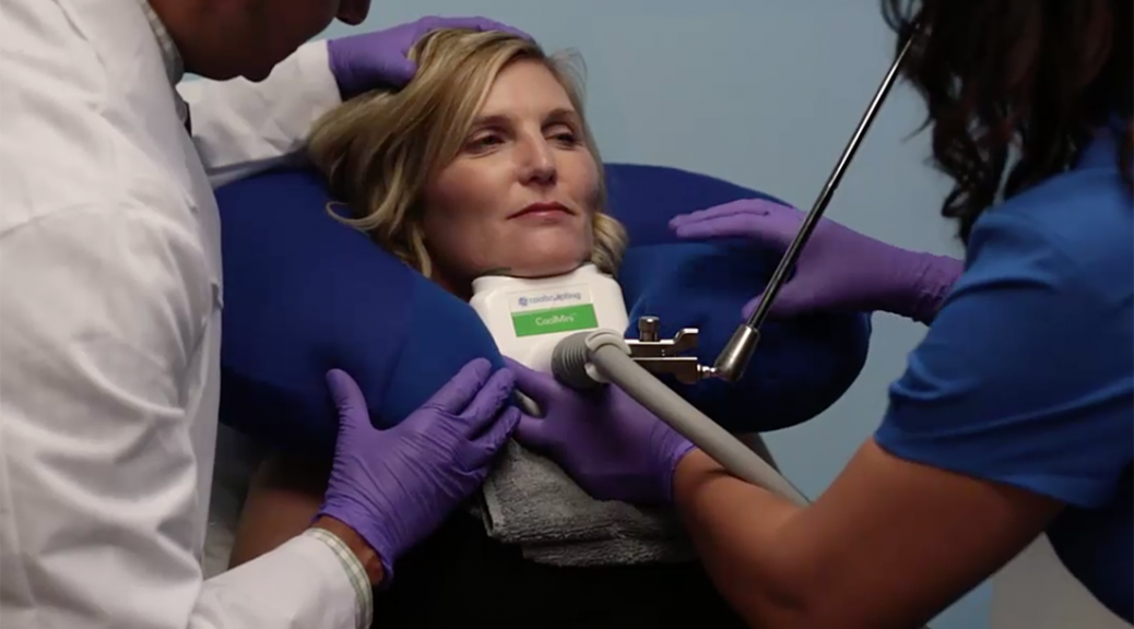 get rid of double chin coolsculpting mini