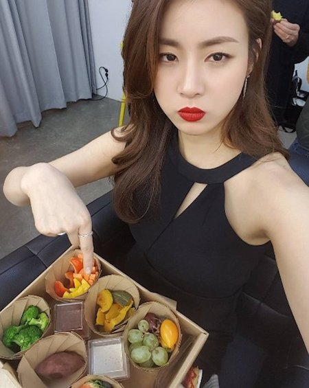 Kang So-ra reveals picture before losing 20 kg