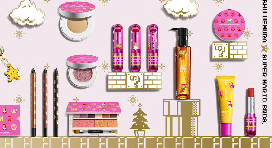 Shu Uemura x Super Mario Bros collaboration is the cute collection we want for Christmas
