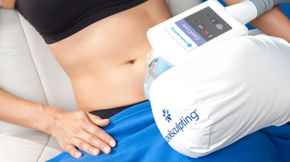 targeted area slimming coolsculpting